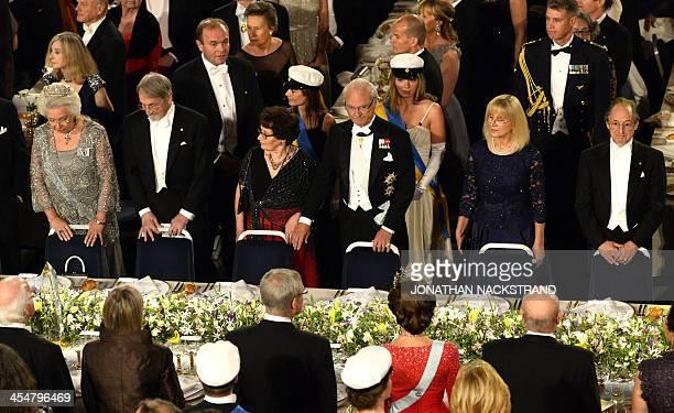 Sister of Swedish King Princess Christina Mrs MagnusonThe Nobel Prize in Chemistry 2013 Martin Karplus Mira Nikomarow spouse of Nobel Prize for...