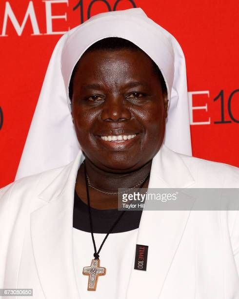 Sister Rosemary Nyirumbe attends the 2017 Time 100 Gala at Jazz at Lincoln Center on April 25 2017 in New York City
