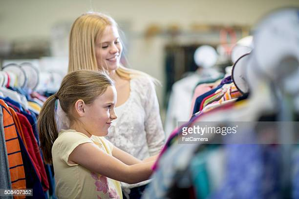 Sister Shopping Together
