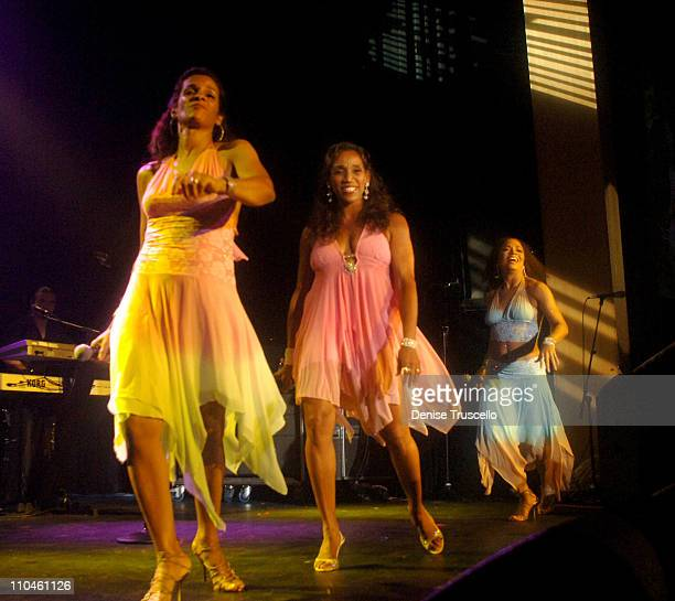 Sister Sledge during KC's Boogie Blast at The Joint Featuring KC the Sunshine Band Sister Sledge and Gloria Gaynor at The Joint at The Hard Rock...