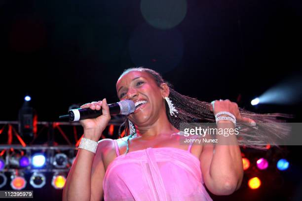 Sister Sledge during Millions More Movement 'We Are Family' Grand Finale Concert Show at MCI Center in Washington DC United States
