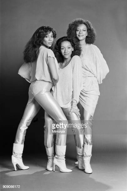 Sister Sledge musical singing sisters group from the USA Picture shows left to right Joni Kathie and Kim Sister Sledge is an American musical vocal...