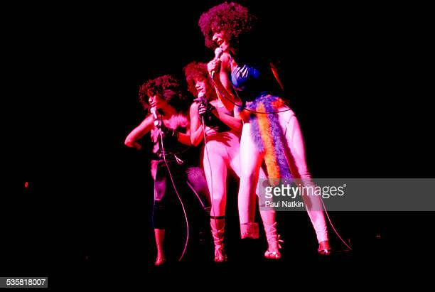 Sister Sledge performing Chicago Illinois July 1 1979