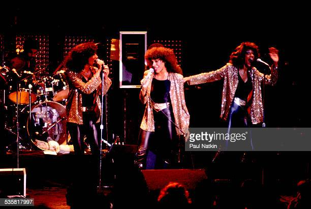 Sister Sledge performing Chicago Illinois June 19 1980