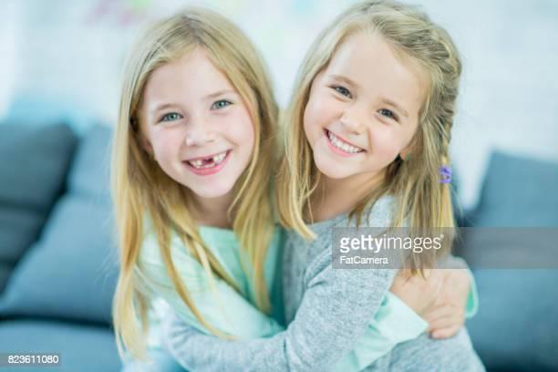 Schwester lächelt