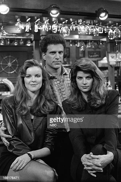 CHEERS Sisterly Love Episode 21 Air Date Pictured Marcia Cross as Susan Howe Ted Danson as Sam Malone Kirstie Alley as Rebecca Howe