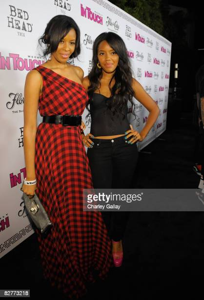 Sisters Angela Simmons and Vanessa Simmons arrive at In Touch Weekly's ICONS IDOLS CELEBRATION Good Charlotte Leona Lewis and The Veronicas performed...