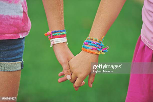 Sisters Are Friends - Holding Hands