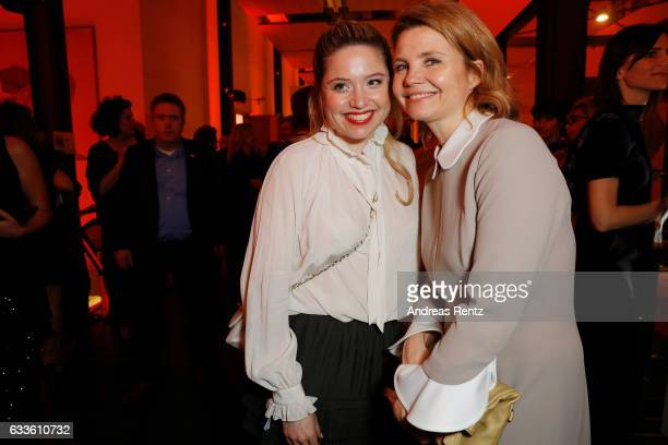 Sisters Caroline Frier and Annette Frier attend the German Television Award at Rheinterrasse on February 2 2017 in Duesseldorf Germany