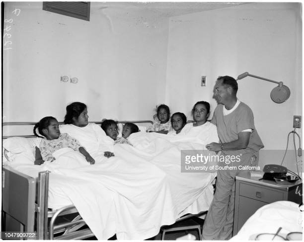 7 sisters have tonsils out 16 May 1958 Virginia Berrera 4 yearsRosemary Berrera 11 yearsStella Berrera 6 yearsTheresa Berrera 8 yearsIrene Berrera 7...