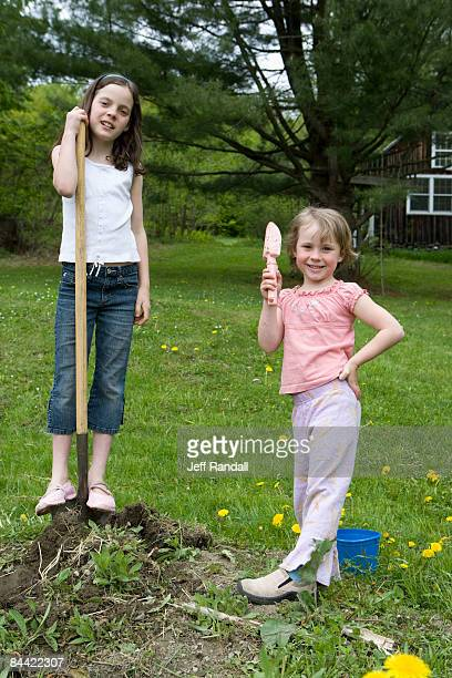 Sisters helfende Pflanze Innenhof-Garten