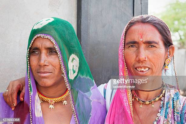 Sisters in Salapura Village, Rajasthan, India