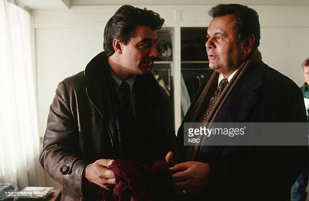 LAW ORDER 'Sisters of Mercy' Episode 17 Air Date Pictured Chris Noth as Detective Mike Logan Paul Sorvino as Detective Philip Cerreta