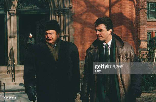 LAW ORDER 'Sisters of Mercy' Episode 17 Air Date Pictured Paul Sorvino as Detective Philip Cerreta Chris Noth as Detective Mike Logan