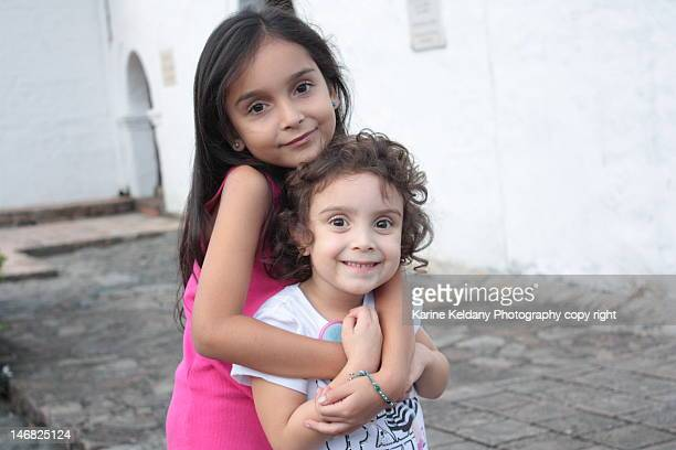 sisters - cali colombia stock pictures, royalty-free photos & images