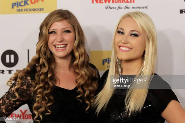 Sisters Taylor Ann Hasselhoff and Hayley Hasselhoff who are the daughters of actor David Hasselhoff and are in a band called Bella Vida attend The...