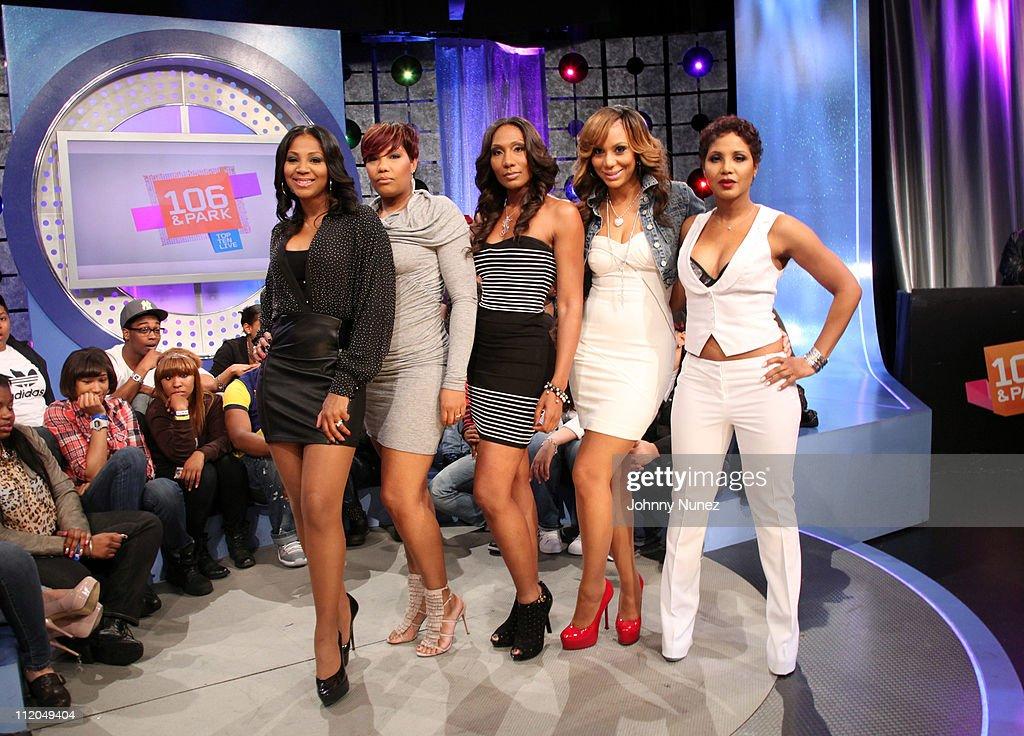 """Toni Braxton Visits BET's """"106 & Park"""" - April 11, 2011 : News Photo"""