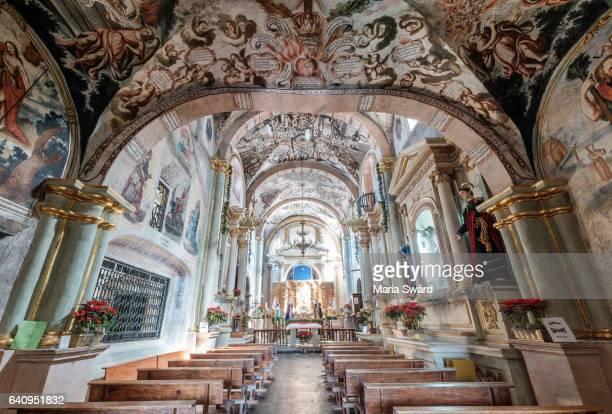 """""""Sistine Chapel of Mexico"""" - Sanctuary of Atotonilco, near Guanajuato, Mexico"""