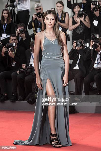 Sistine Rose Stallone attends a premiere for 'Hacksaw Ridge' during the 73rd Venice Film Festival at on September 4 2016 in Venice Italy