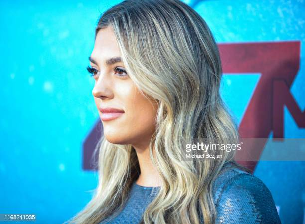 Sistine Rose Stallone attends the LA Premiere of 47 Meters Down UNCAGED on August 13 2019 in Los Angeles California