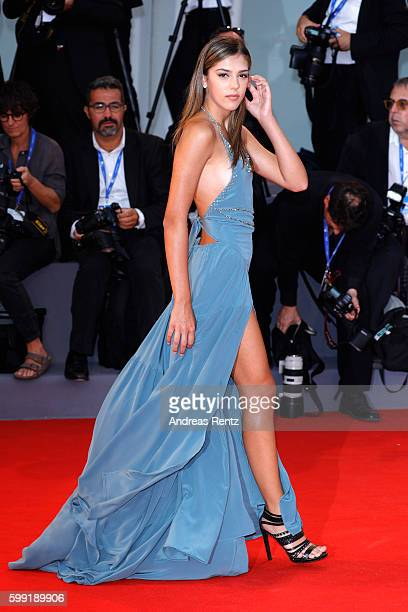 Sistine Rose Stallone attends the premiere of 'Hacksaw Ridge' during the 73rd Venice Film Festival at Sala Grande on September 4 2016 in Venice Italy