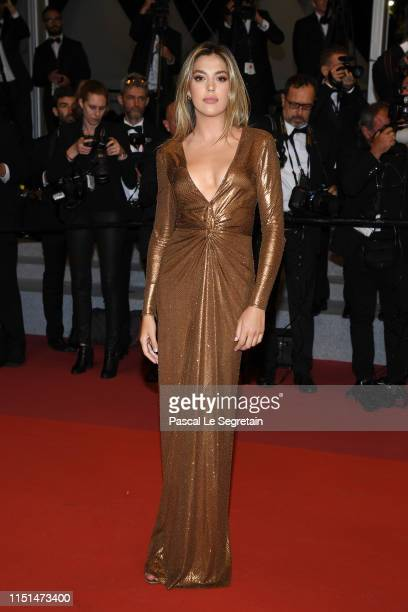 Sistine Rose Stallone attends the screening of Rambo Last Blood during the 72nd annual Cannes Film Festival on May 24 2019 in Cannes France