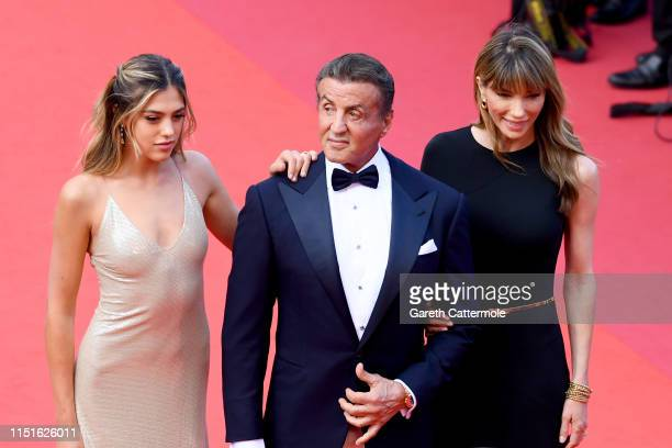 Sistine Rose Stallone Sylvester Stallone and Jennifer Flavin attend the closing ceremony screening of The Specials during the 72nd annual Cannes Film...