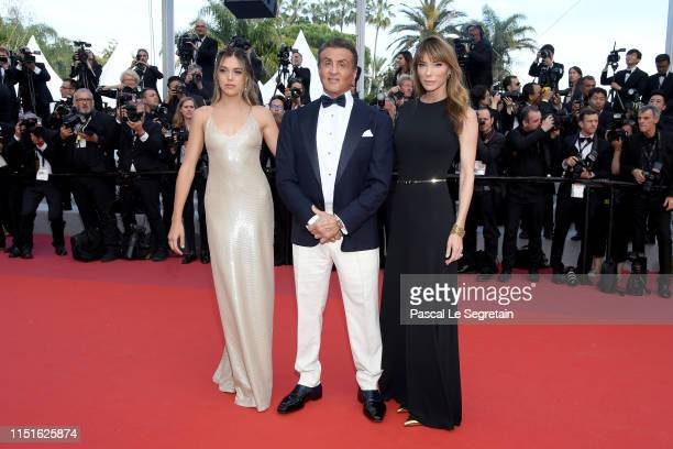 Sistine Rose Stallone Sylvester Stallone and Jennifer Flavin attends the closing ceremony screening of The Specials during the 72nd annual Cannes...