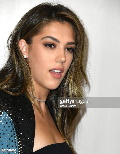 Sistine Stallone arrives at the Bottega Veneta Hosts Hammer Museum Gala In The Garden at Hammer Museum on October 14 2017 in Westwood California