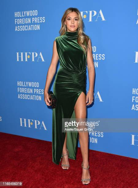 Sistine Stallone attends the Hollywood Foreign Press Association's Annual Grants Banquet at Regent Beverly Wilshire Hotel on July 31 2019 in Beverly...