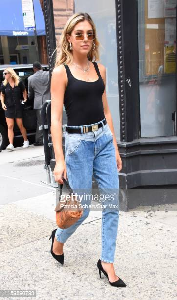 Sistine Stallone is seen on August 5, 2019 in New York City.