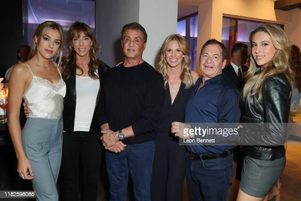 Sistine Stallone, Jennifer Stallone, Sylvester Stallone, Kelly Noonan Gores, Alec Gores and Sophia Stallone attends Book Launch Party For Kelly...