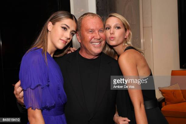 Sistine Stallone Michael Kors and Princess Maria Olympia of Greece attend Town Country Magazine's Modern Swans Celebrationon at The Carlyle September...