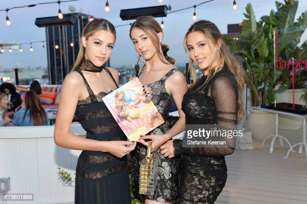 Sistine Stallone Scarlet Stallone and Sophia Stallone attend harper x Harper's BAZAAR May Issue Event Hosted by The Stallone Sisters and Amanda...