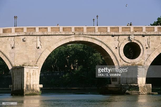 Sisto bridge also known as pons Agrippae Rome Lazio Italy 3rd15th century