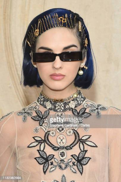 Sita Abellan attends the Christian Dior show as part of the Paris Fashion Week Womenswear Fall/Winter 2019/2020 on February 26 2019 in Paris France