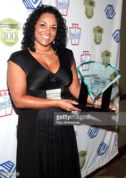Sita Lewis daughter of the late Butch Lewis attends the Boys Girls Club of Mount Vernon 100th Anniversary Gala at the Rye Town Hilton on March 24...