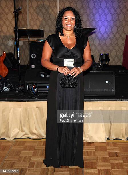 Sita Lewis the daughter of the late Butch Lewis attends the Boys Girls Club of Mount Vernon 100th Anniversary Gala at the Rye Town Hilton on March 24...
