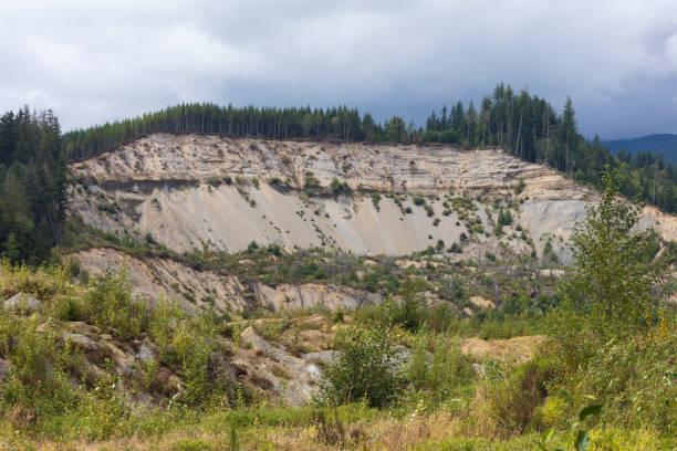 Site of 2014 Oso mudslide, Oso, Washington, USA