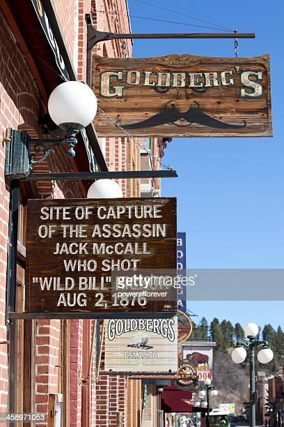 Site of Jack McCall's Capture - Deadwood, South Dakota