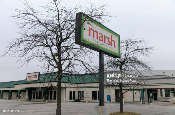 Site of one of the former Marsh Supermarkets in Muncie Indiana Thursday November 29 2018