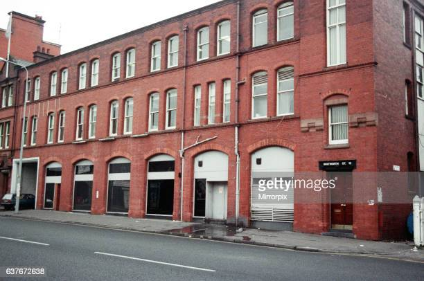 Site of the famous Hacienda night club and music venue in Whitworth Street West Manchester Once labelled the most famous club in the world it is...