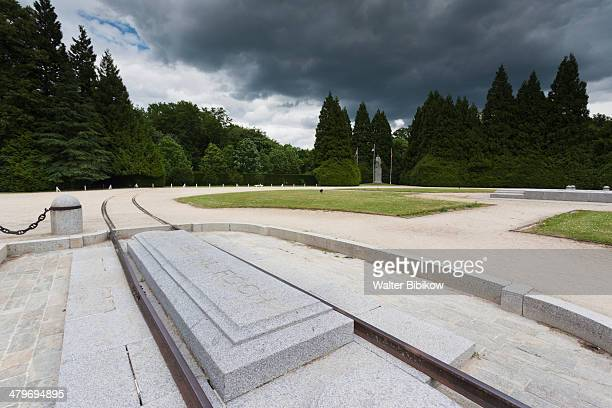 site of the signing of the world war one armistice - oise stock photos and pictures