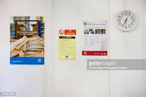 Site safety instructions, UK.