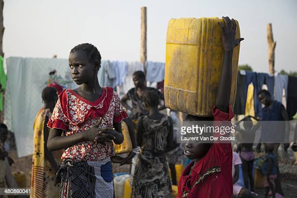 POC site17000 people fleeing violences almost all of the ethnic group Nuer came from the North or from the capital to take refuge at the POC site of...