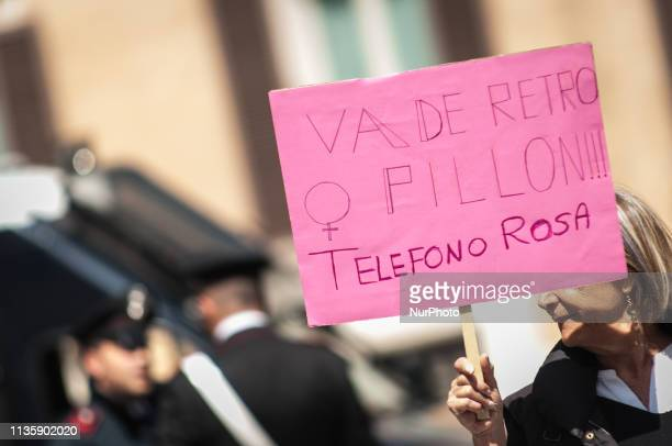 Sit-In at Montecitorio against the text that arrives today in the Justice Commission at Palazzo Madama, the bill Pillon and the other related ddl....