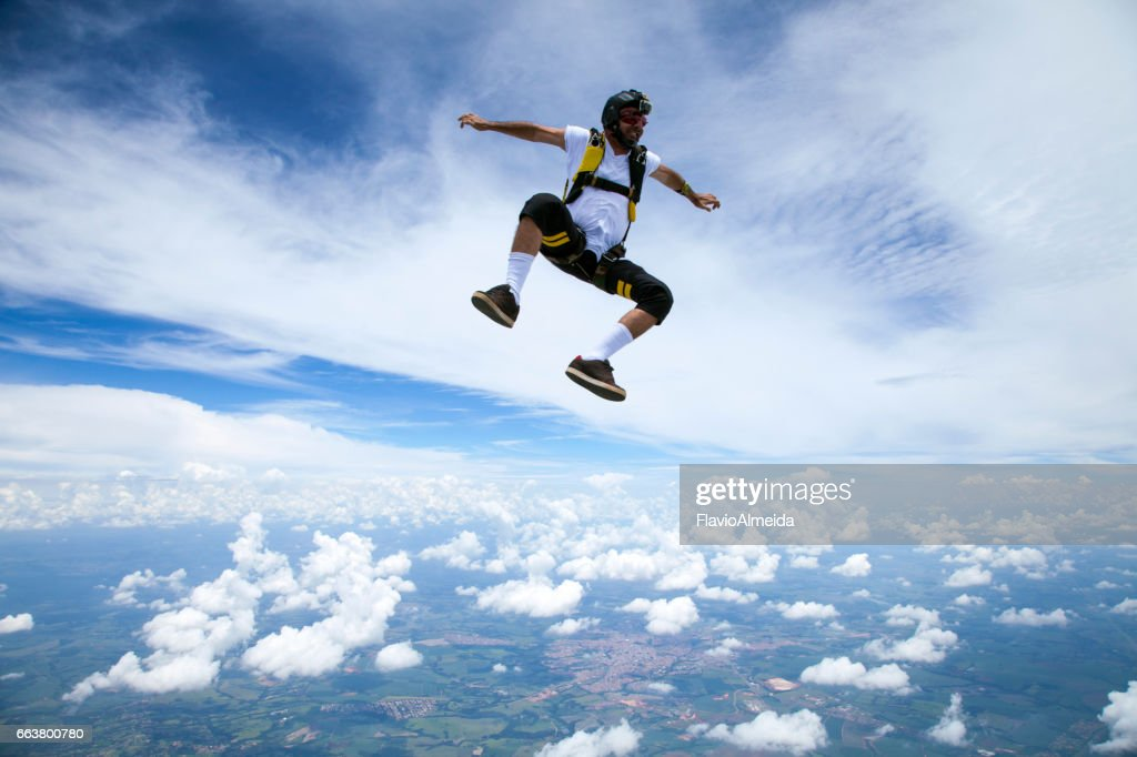siting in the sky : Stock Photo