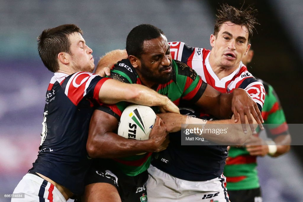 NRL Rd 4 - Rabbitohs v Roosters : News Photo