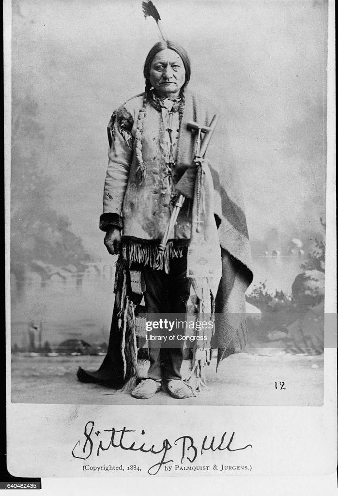 Sitting Bull : News Photo