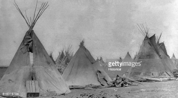 Sitting Bull's camp